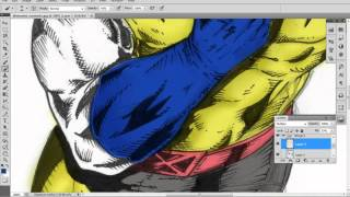 Speed Painting - Chromatizing: Wolverine (X-Men)