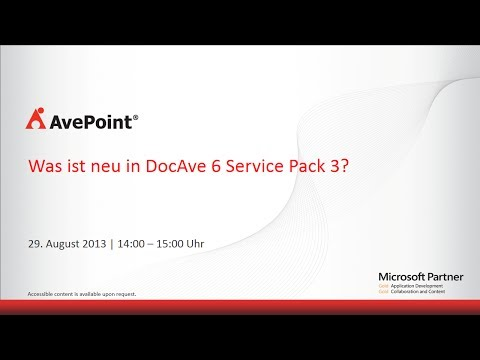 DocAve 6 Service Pack 3 - What's new?