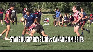 Tropical 7s 2019: Stars Rugby BU18 vs Canadian Misfits