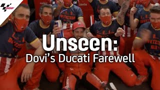 Unseen: Dovizioso's Ducati farewell following the Portuguese GP
