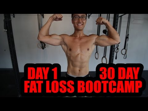 Live 30 Day Fat Loss Bootcamp For Beginners Day 1 - Monday