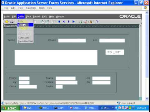 Oracle Apps Tutorial-7Oracle Forms -Properties and System Variables