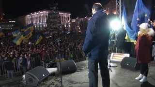 Американская невеста Кличко выступила в Киеве #евромайдан