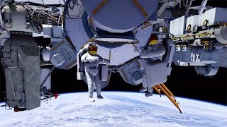 3D Animation of Oct. 28 Spacewalk Activities