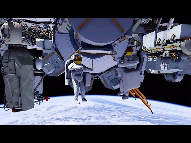 3D Animation of Oct. 28 Spacewalk Activities