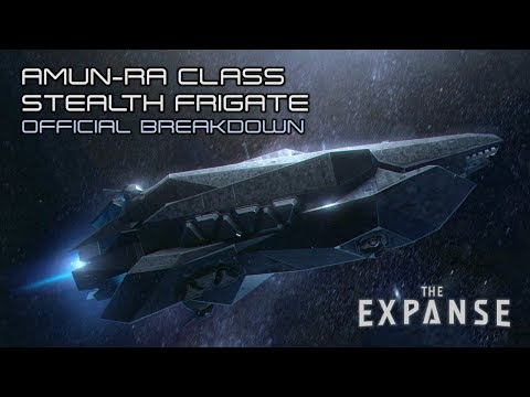 The Expanse: Amun-Ra Class Stealth Frigate - Official Breakdown