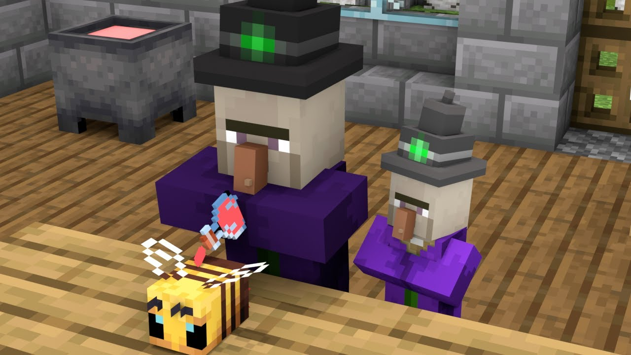 Monster School  Baby Witch Become a Hero  Minecraft Animation
