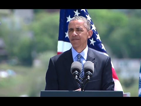 The President Delivers the United States Coast Guard Academy Commencement Address