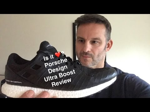 mimar ángel Definitivo  Adidas Porsche Design Ultra Boost Black Unboxing Review and on Foot -  YouTube