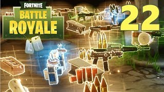 [22] The Tunnel Of Loot! (Let's Play FortNite Battle Royale)