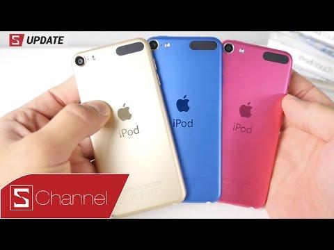 Schannel - S Update : Tất cả thông tin iPod Touch 2015: chip A8, giá 199$;  iPod nano, iPod Shuffle