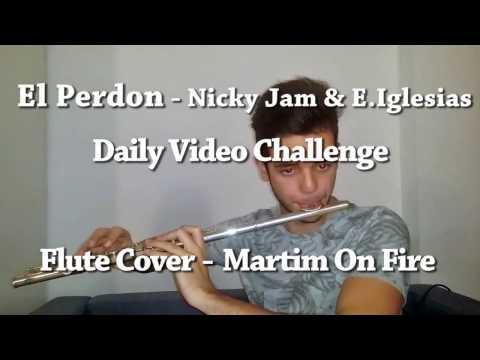 El Perdon Nicky Jam Enrique Iglesias - Amazing Flute Cover - (DOWNLOAD NOTES FOR FREE)
