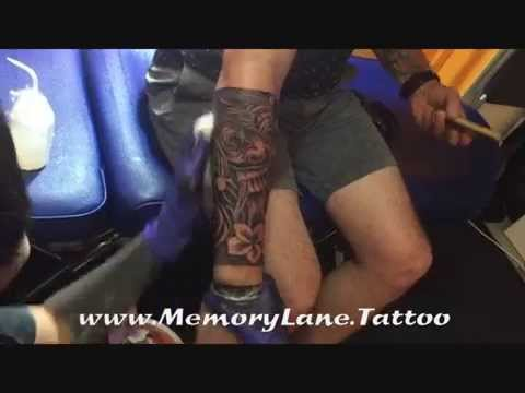 af8bfc0a0 Custom Forearm Lion Primitive Inspired Maori Tattoo by Singapore Best  Tattoo Studio