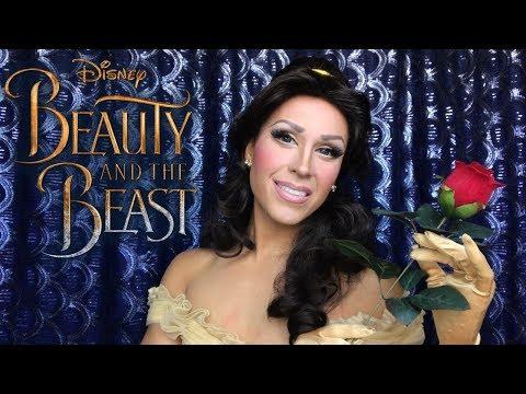 Bella - La Bella y La Bestia - Transformacion Maquillaje