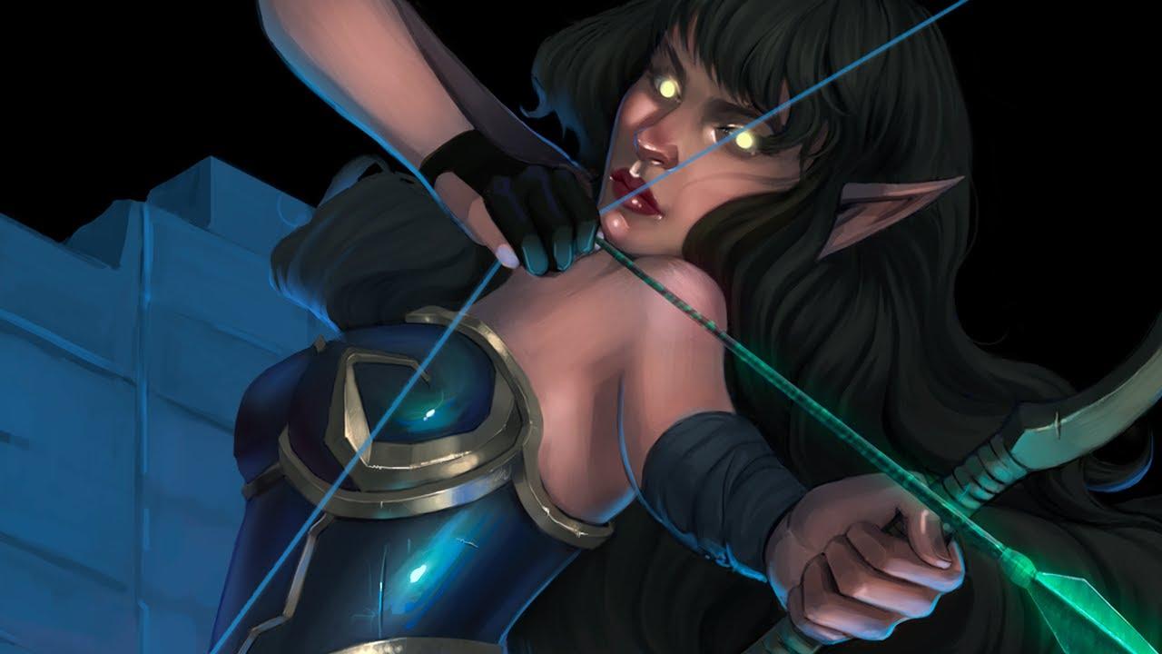 Dark Archer Concept Art