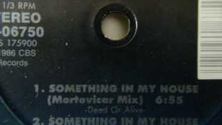 Dead Or Alive - Something in my House (Mortevicar Remix)