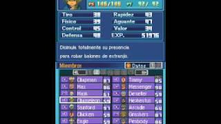 Inazuma Eleven (SPA) Meus jogadores