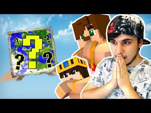 DÜNYANIN EN ZOR HARİTASINDA EN KOLAY OYUN (Minecraft)