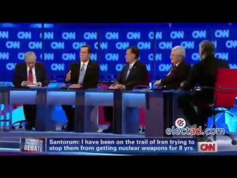 Republican Presidential Debate (CNN/Arizona Republican Party) - February 22 2012