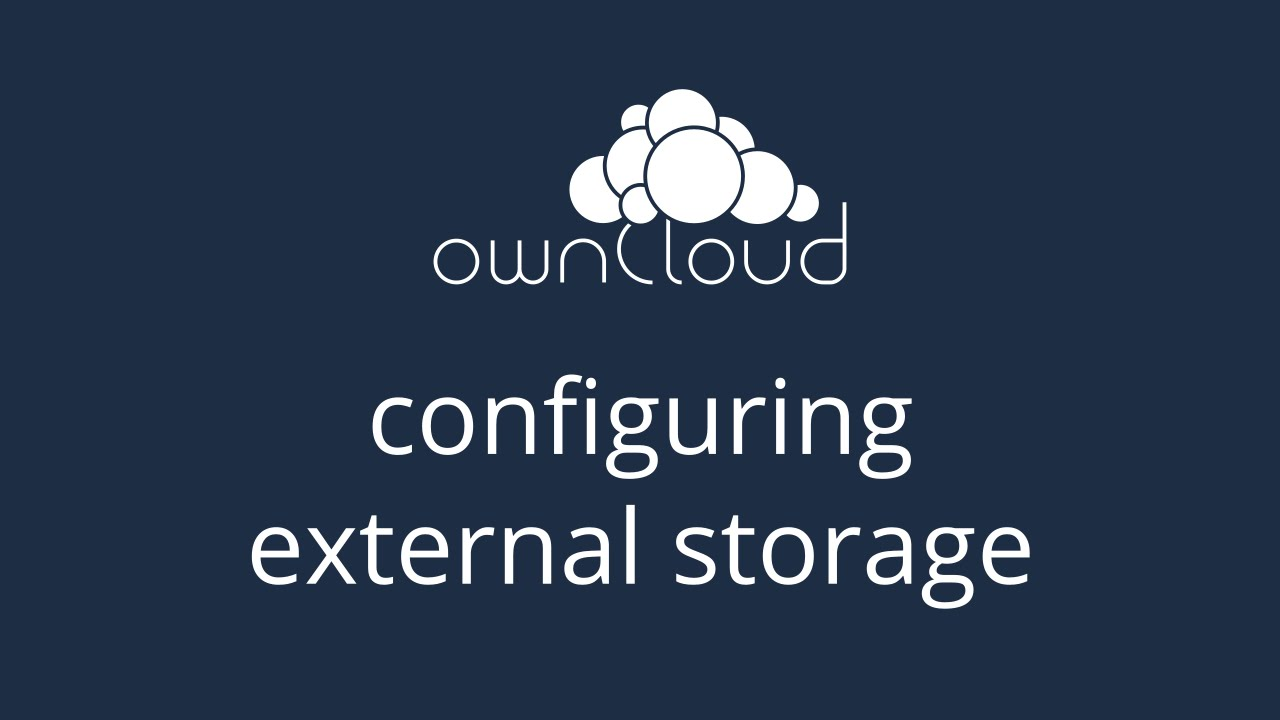 How to Configure External Storage in ownCloud Server 8.1