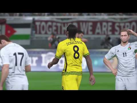 PES17: Jordan vs Jamaica