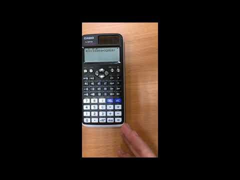 Вопрос: Как использовать научный калькулятор для алгебры?