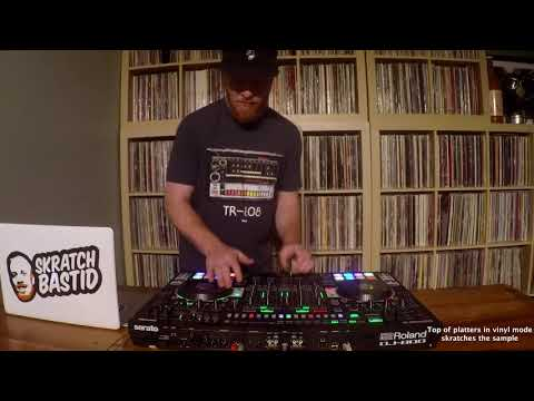 Skratch School - Roland DJ-808 - Recreating Run-DMC's