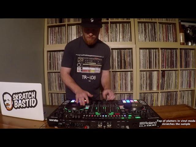 Skratch School - Roland DJ-808 - Recreating Run-DMC's