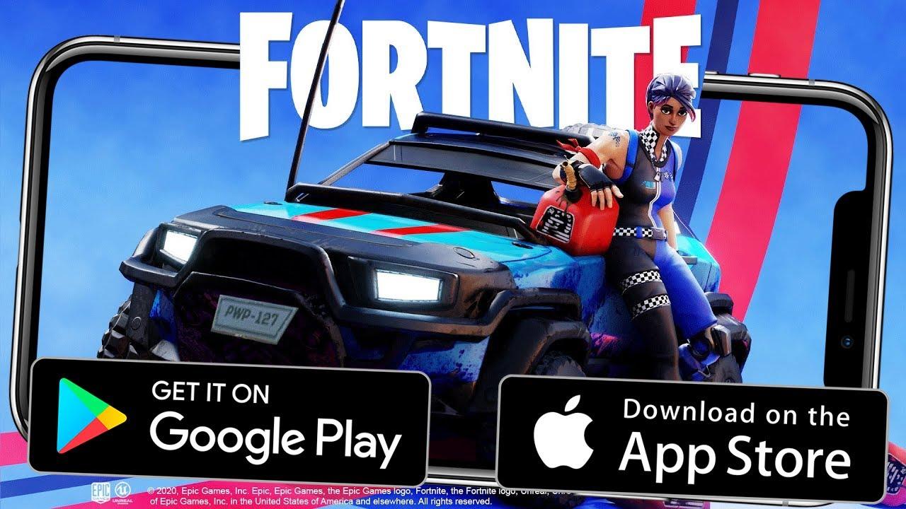 FORTNITE 2 С ТАЧКАМИ НА АНДРОИД/iOS! ВЫШЕЛ НОВЫЙ ФОРТНАЙТ НА АНДРОИД! НОВОСТИ АНДРОИД ИГР