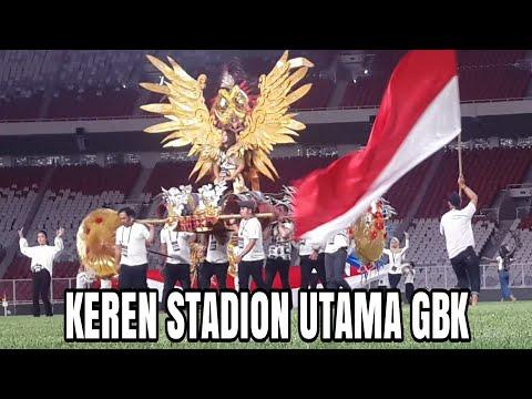 GLADI RESIK JELANG FINAL PIALA PRESIDEN SUGBK 2018 - Spectacular SUGBK Stadium Indonesia