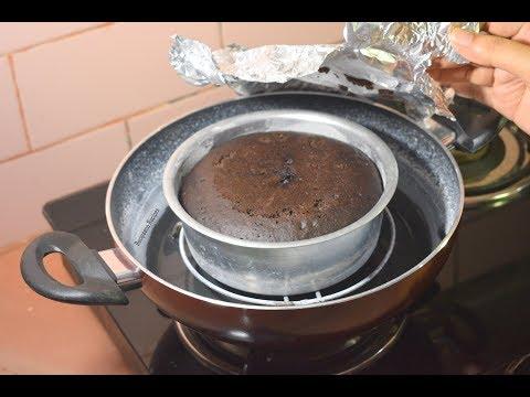 पानी के भाप से बनाये सॉफ्ट एंड स्पंजी केक -Steamed Cake-Chocolate Cake Recipe Without Oven-Recipeana