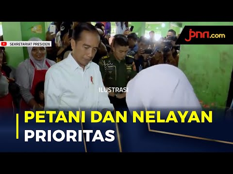Jokowi Terapkan 4 Skema Khusus Bagi Petani dan Nelayan Untuk Jaga Stabilitas Pangan