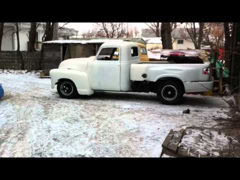 1946 Ford Pickup, S10 Chassis, Air Ride, LS1 drivetrain