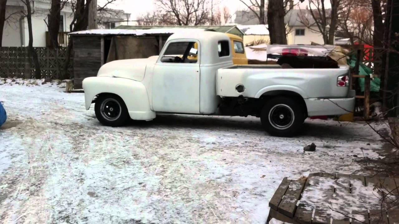 1950 Chevy Pickup with S10 Chassis Conversion - YouTube