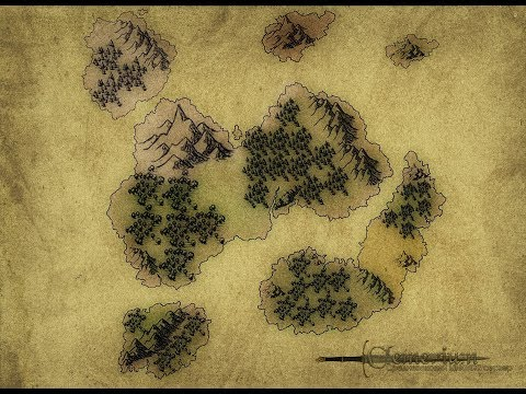 16000x16000 Clemerium Map - RPG [WorldMachine And WorldPainter]