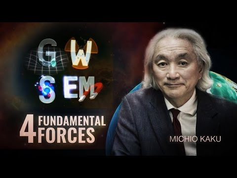 The four fundamental forces of nature - Michio Kaku