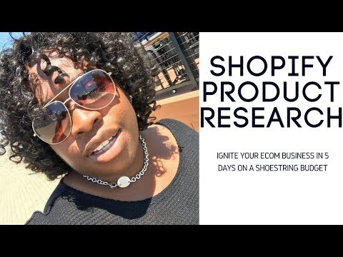 ***NEW*** Shopify Tutorial For Beginners | How To Source Products For Your Shopify Store