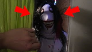 JEFF THE KILLER CAME TO MY HOUSE!! (SCARY)