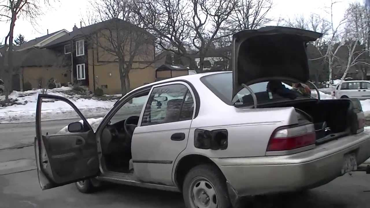 Toyota Ft 1 >> 1997 Toyota Corolla 2JZ Exhaust Update - YouTube