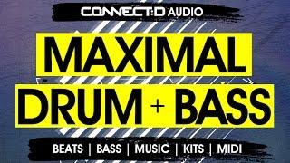 Maximal Drum Bass - Liquid Funk DnB Drum Loops - CONNECT:D Audio