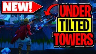 How To Get Under Titled Towers After Update With This Fortnite Glitch!