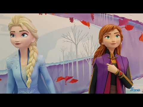 Frozen II Beautiful Elsa & Anna Life Size Figures @ Toys