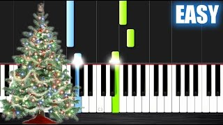 O Christmas Tree - EASY Piano Tutorial by PlutaX