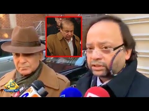 Dr. Adnan Media Talk along with Shehbaz Sharif | Update On Nawaz Sharif Health | Capital TV