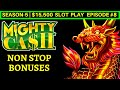 Mighty Cash Slot Machine NON STOP BONUSES - Great Session ...