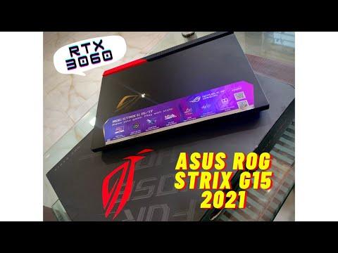 ASUS ROG Strix G15QM 2021 | Ryzen 9 5900Hx RTX 3060 | Original Black Unboxing