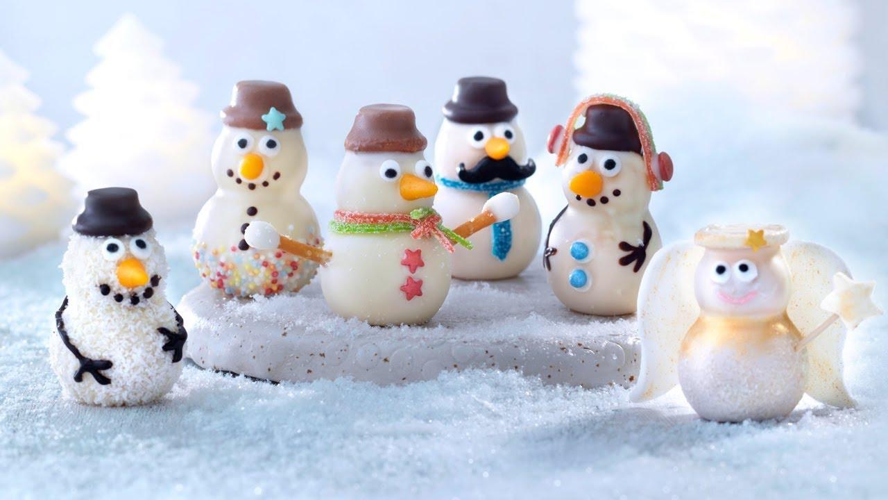 Moule petit bonhomme de neige de betty bossi youtube - Modele bonhomme de neige ...