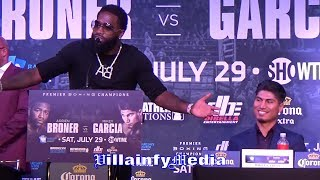 """ADRIEN BRONER SAVAGE MESSAGE TO GARCIA FAMILY """"AFTER I FUCK HIM UP WE STILL FAMILY"""""""