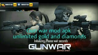 Gun War : Swat Terrorist Strike Mod Apk And Gameplay(unlimited Gold And Diamonds)