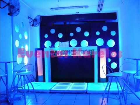 Decoraci n de locales paredes l dicas pisos led bar - Decoracion de pub ...